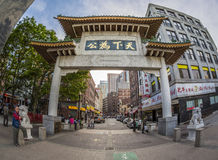 SChina Town in Boston, Massachusetts, USA Royalty Free Stock Photography