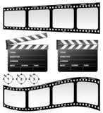 Schindel und Film Lizenzfreies Stockfoto