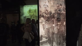 Schindler Fabryczny muzeum w Krakow Obraz Stock