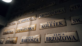 Schindler& x27; s工厂博物馆在克拉科夫 图库摄影