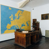 Schindler& x27; s工厂博物馆在克拉科夫 免版税图库摄影