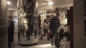 Schindler's Factory Museum in Krakow. Royalty Free Stock Images
