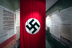 Schindlers Fabrik in Krakau, Polen Lizenzfreie Stockfotografie