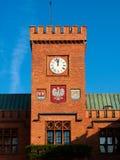 Schinkels cityhall in Kolberg Stock Afbeelding