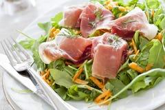 Schinken-Salat Lizenzfreies Stockbild