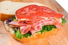 Schinken-Sandwich Lizenzfreie Stockfotografie