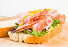 Schinken-Sandwich Stockfotos