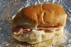 Schinken- und Käsesandwich Stockfotos