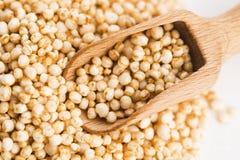 Schioccare della quinoa fotografie stock libere da diritti