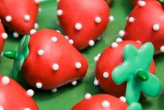 Schiocchi del dolce della fragola Fotografia Stock
