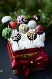 Schiocchi del dolce di Natale Fotografie Stock Libere da Diritti