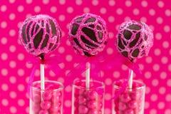 Schiocchi del dolce di turbinio Fotografia Stock