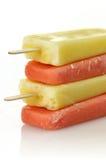 Schiocchi del gelato Immagine Stock Libera da Diritti