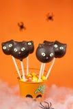 Schiocchi della torta del gatto Fotografia Stock