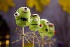 Schiocchi dolci del dolce di Halloween Immagine Stock