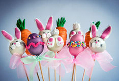 Schiocchi dolci del dolce di Pasqua Fotografia Stock