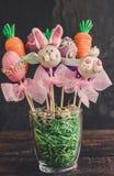 Schiocchi dolci del dolce di Pasqua Fotografie Stock Libere da Diritti