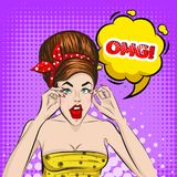 Schiocco Art Colorful Strip Background royalty illustrazione gratis