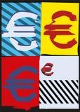 Schiocco Art Money Fotografia Stock