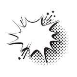 Schiocco Art Style Social Media Communication dell'icona della bolla di chiacchierata Immagini Stock Libere da Diritti