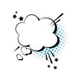Schiocco Art Style Social Media Communication dell'icona della bolla di chiacchierata Fotografie Stock Libere da Diritti