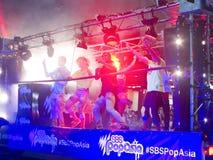 Schiocco Asia di SBS nell'azione Immagini Stock