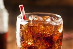 Schiocco di soda pieno di bolle di rinfresco Immagine Stock Libera da Diritti