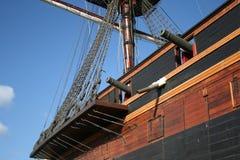 Schip 17 van de piraat stock fotografie