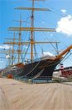 Schip bij Dok Royalty-vrije Stock Foto's