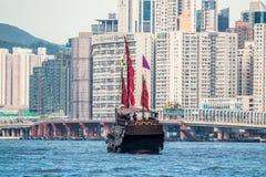 Schip in de haven Royalty-vrije Stock Afbeeldingen
