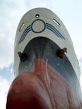 Schip in droogdok Stock Foto