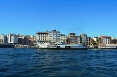 Schip in Istanboel Stock Fotografie