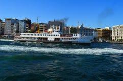Schip in Istanboel Royalty-vrije Stock Afbeelding