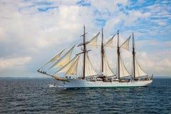 Schip Juan Sebastian de Elcano royalty-vrije stock foto's