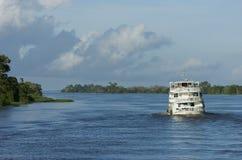 Schip. Manaus. Brazilië stock afbeelding