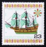 Schip Mayflower, circa 1980 Stock Afbeeldingen