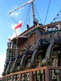 Schip met duidelijke hemelen Royalty-vrije Stock Foto's