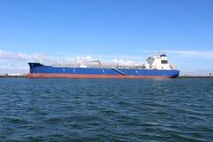 Schip in Oceaancorpus Christi Texas stock fotografie