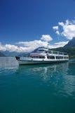 Schip op Meer Luzerne stock fotografie