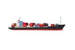 Schip op witte achtergrond royalty-vrije stock afbeeldingen