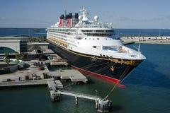 Schip van de Cruise van Disney het Magische Stock Foto's