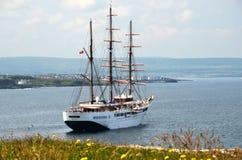 Schip van de Seacloud het Varende Cruise Stock Afbeelding