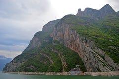 Schip van de Yangtze het Gouden Cruise stock foto