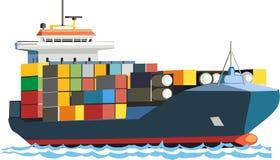 Schip van tanker Stock Foto's