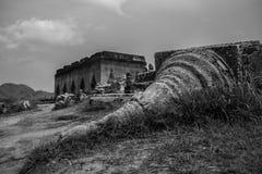 Schipbreuk of ruïnes Stock Afbeeldingen