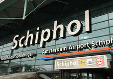 Schiphol Images stock