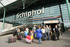 Schiphol Stock Photo