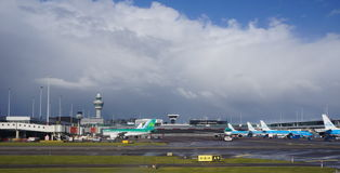 Schiphol airport, Amsterdam, the Netherlands Royalty Free Stock Image