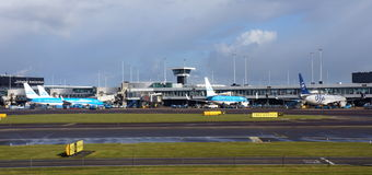 Schiphol airport, Amsterdam, the Netherlands Stock Photography