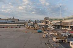 SCHIPHOL AIRPORT/NETHERLANDS - 22 juin 2017 - aéroport BO de Schiphol Photo libre de droits